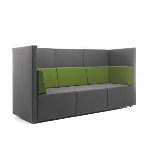 Akoestische zetel lounge 2 of 3 zit burocentral for Lounge zetel
